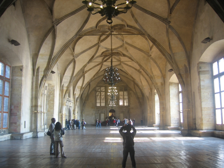 Arched Ceiling In The Palace